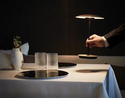 Lampe de table à led sans fil