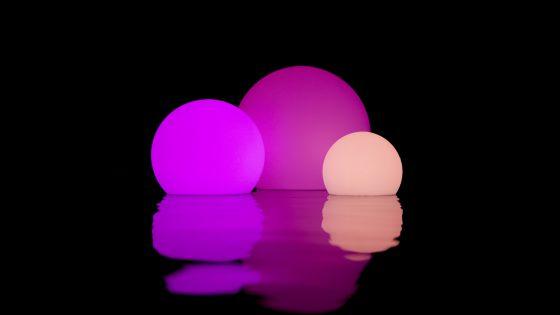 Boules lumineuses à led à vendre.