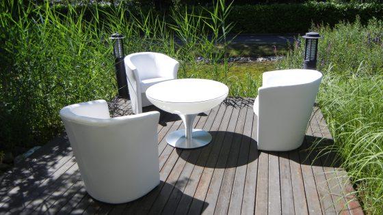 Location de fauteuils et de tables pour soirées