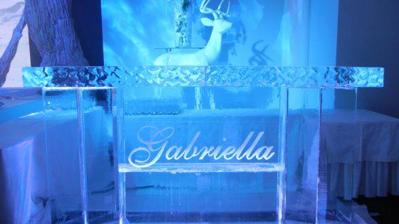 Bar en glace à Genève
