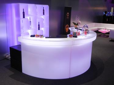 Location de bar lumineux