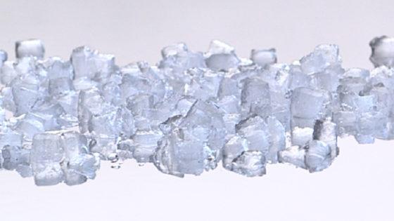 Crudhed-Ice ou glace concassée de première qualité